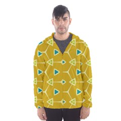 Connected triangles Mesh Lined Wind Breaker (Men)
