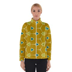 Connected triangles Winter Jacket