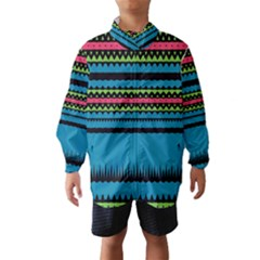 Chevrons And Triangles Wind Breaker (kids)