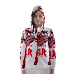 Michael Andrew Law s Mal Girl & Mr.BBQ Pork Hooded Wind Breaker (Women)