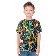 Colorful Stones, Nature Kid s Cotton Tee
