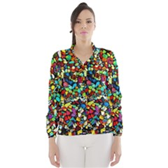 Colorful Stones, Nature Wind Breaker (Women)
