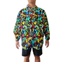 Colorful Stones, Nature Wind Breaker (kids)