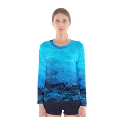 Mendenhall Ice Caves 3 Women s Long Sleeve T Shirts