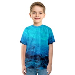 Mendenhall Ice Caves 3 Kid s Sport Mesh Tees