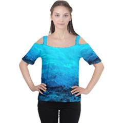MENDENHALL ICE CAVES 3 Women s Cutout Shoulder Tee