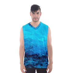 Mendenhall Ice Caves 3 Men s Basketball Tank Top