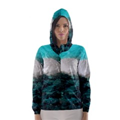 MENDENHALL ICE CAVES 2 Hooded Wind Breaker (Women)