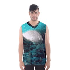 MENDENHALL ICE CAVES 2 Men s Basketball Tank Top