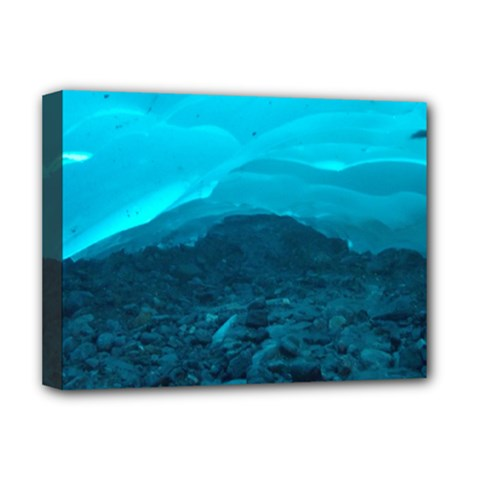 MENDENHALL ICE CAVES 1 Deluxe Canvas 16  x 12