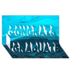 Mendenhall Ice Caves 1 Congrats Graduate 3d Greeting Card (8x4)