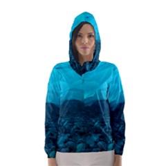 MENDENHALL ICE CAVES 1 Hooded Wind Breaker (Women)