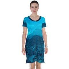 Mendenhall Ice Caves 1 Short Sleeve Nightdresses
