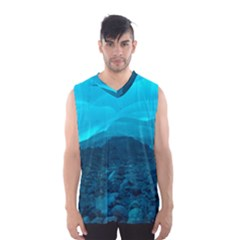 MENDENHALL ICE CAVES 1 Men s Basketball Tank Top