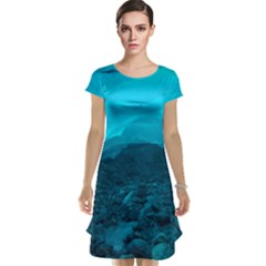Mendenhall Ice Caves 1 Cap Sleeve Nightdresses