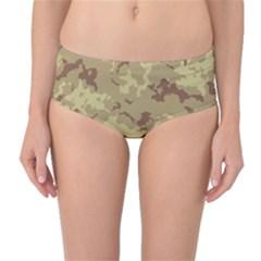Deserttarn Mid Waist Bikini Bottoms