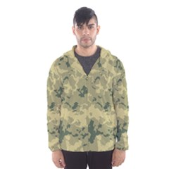 GreenCamouflage Hooded Wind Breaker (Men)