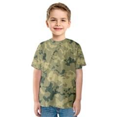 GreenCamouflage Kid s Sport Mesh Tees