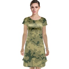 Greencamouflage Cap Sleeve Nightdresses