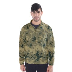 GreenCamouflage Wind Breaker (Men)