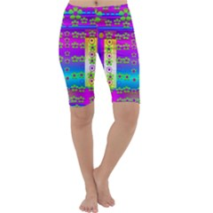 Peace And Groovy Cropped Leggings