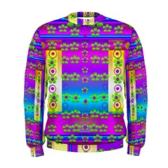 Peace And Groovy Men s Sweatshirt