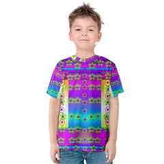 Peace And Groovy Kid s Cotton Tee