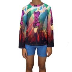 The Dreamer Kid s Long Sleeve Swimwear