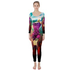 The Dreamer Long Sleeve Catsuit