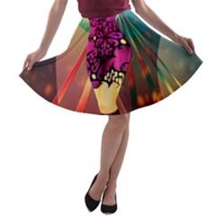 The Dreamer A-line Skater Skirt