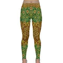 The Gothic Starry Night Yoga Leggings