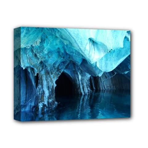 MARBLE CAVES 3 Deluxe Canvas 14  x 11