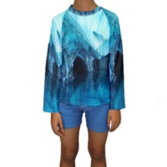 MARBLE CAVES 3 Kid s Long Sleeve Swimwear