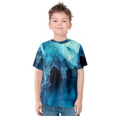 Marble Caves 3 Kid s Cotton Tee