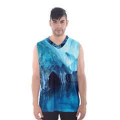 MARBLE CAVES 3 Men s Basketball Tank Top