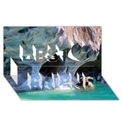 MARBLE CAVES 2 Best Friends 3D Greeting Card (8x4)