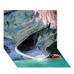 Marble Caves 2 Heart Bottom 3d Greeting Card (7x5)