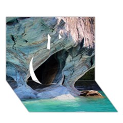 Marble Caves 2 Apple 3d Greeting Card (7x5)