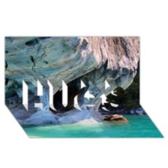 MARBLE CAVES 2 HUGS 3D Greeting Card (8x4)