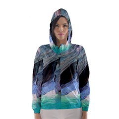 Marble Caves 2 Hooded Wind Breaker (women)