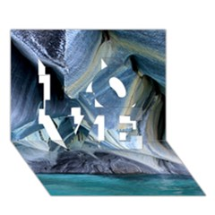 MARBLE CAVES 1 LOVE 3D Greeting Card (7x5)