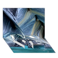 MARBLE CAVES 1 LOVE Bottom 3D Greeting Card (7x5)