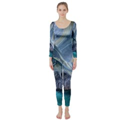 Marble Caves 1 Long Sleeve Catsuit