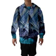 MARBLE CAVES 1 Hooded Wind Breaker (Kids)