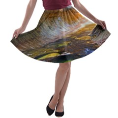 Left Fork Creek A Line Skater Skirt