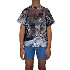 KARIJINI CANYON Kid s Short Sleeve Swimwear