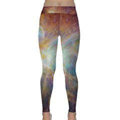 Rainbow Nebula Yoga Leggings