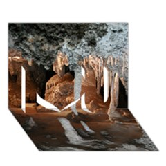JENOLAN IMPERIAL CAVE I Love You 3D Greeting Card (7x5)