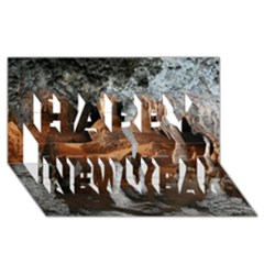 JENOLAN IMPERIAL CAVE Happy New Year 3D Greeting Card (8x4)