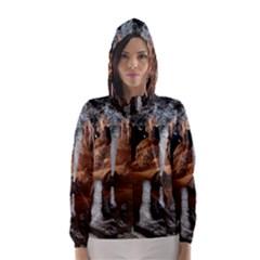 Jenolan Imperial Cave Hooded Wind Breaker (women)